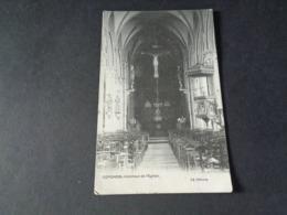 Belgique  België  ( 1159 )    Coyghem  Kooigem  ( Kortrijk )  Intérieur De L' église - Kortrijk