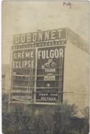 57   Metz   Carte Photo Dubonnet  Creme Eclipse Cirage A La Cire,fulgor  Pour Tous Metaux - Metz