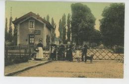 VILLETANEUSE - Passage à Niveau - Avenue De Saint Denis (belle Carte Toilée ) - Villetaneuse