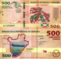 BURUNDI, 500 FRANCS, 2018/2019, NEW P50b, UNC - Burundi
