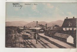 SENNHEIM - Bahnhof - CERNAY - La Gare - Cernay