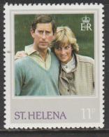 St Helena 1982 The 21st Anniversary Of The Birth Of Princess Diana Of Wales 11 P Multicoloured SW 370 * M/M - Saint Helena Island