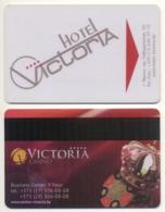 Hotel Key Card Casino & Hotel Victoria BELARUS Minsk - Hotelkarten