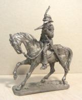* Tin Soldier ! Horse  European Warrior (scale 1:32 Size ) №11 - Tin Soldiers