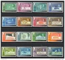 2013 British Antarctic Territory Definitives Stamp On Stamp Complete Set Of 16 MNH - Ungebraucht