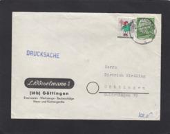 """BRIEF AUS GÖTTINGEN MIT VIGNETTE """"WEINACHTEN 1958"""". - Briefe U. Dokumente"""