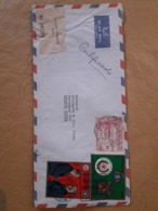 Enveloppe Du Paraguay Distribuée En Argentine Avec De Grands Timbres - Paraguay