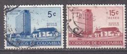 G0122 - COLOMBIA Yv N°503 + AERIENNE - Colombie