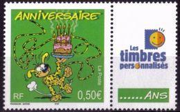 """FR Personnalisés YT 3569A """" Pour Anniversaires - LTP """" 2003 Neuf** - Personalized Stamps"""