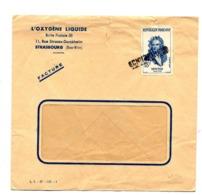 Lettre Cachet Annulation Schiltigheim Sur Newton - Marcofilia (sobres)