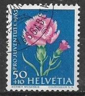 SVIZZERA 1964  PRO JUVENTUTE UNIF. 742 USATO VF - Usati