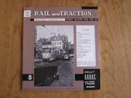 RAIL ET TRACTION N° 123 Revue Chemin De Fer SNCB Tram Vicinal Tunnel Fréjus SNCF Tramways Gand SNCV Métro Lyon - Ferrocarril & Tranvías