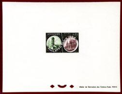 Andorra French 1964 #158, PHILATEC, Int'l Philatelic Exhibition In Paris - French Andorra