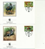 23 FDC  -   Enten , Vögel , Birds - Albatrosse & Sturmvögel