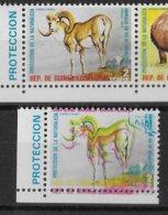 1974 - GUINEE EQUATORIALE - SPECTACULAIRE VARIETE DECALAGE De COULEUR !  ANIMAUX - PROTECTION DE LA NATURE - RARE ! - Guinée Equatoriale