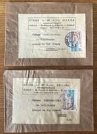 France N°978 Sur Bande Journal (lot De 2) - (B1548) - 1921-1960: Periodo Moderno