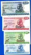 Zimbabwe  4  Billets - Zimbabwe