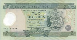 ILES SALOMON   2 Dollars  2001  -- UNC -- - Salomonseilanden