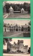 28 Eure Et Loir Villebon Chateau Lot De 5 Cartes Postales Voir 4 Scans - Autres Communes