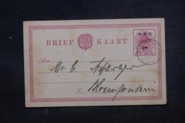 AFRIQUE DU SUD - Entier Postal Surchargé V.R.I. De Bloemfontein En 1900 - L 45382 - África Del Sur (...-1961)