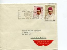 Marocco (1973) - Posta Aerea Per La Germania - Marruecos (1956-...)