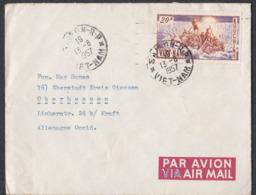 Sem_ Vietnam Süd - Mi.Nr. 105 - Gestempelt Used - Auf Brief - Vietnam
