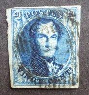 BELGIE  1849    Nr. 4   Gerand    Gestempeld     CW 70,00 - 1849-1850 Médaillons (3/5)