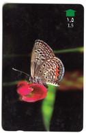 Telecarte °_ Oman-papillon-Grass Jewel- R/V 4697 - Oman