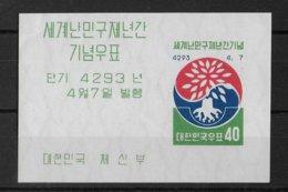 KOREA - REFUGIES ! BLOC YVERT 20 ** MNH - COTE = 65 EUR. - Korea, South