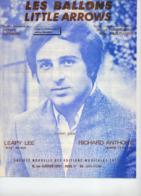 PARTITION LES BALLONS / LITTLE ARROWS - RICHARD ANTHONY - 1968 - EXC ETAT COMME NEUF - - Music & Instruments