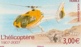 2007 Poste Aérienne N° 70, Hélicoptère Neuf** - Poste Aérienne