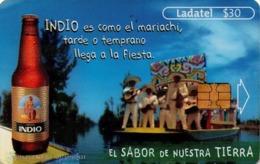 MEXICO. BEER - CERVEZA - BIER. CERVEZA INDIO. Indio Es Como El Mariachi, Tarde O Temprano... MX-TEL-P-1137. (107) - México