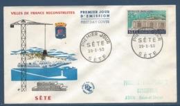 France - FDC - Premier Jour - Sète - 1958 - FDC