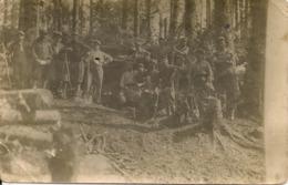 Carte Photo Guerre 14/18 - L' Hartmannsweilerkopf - Frankrijk