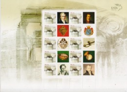 GREECE STAMPS WITH LABEL 2014/FRIENDSHIP OF GREECE/SWITZERLAND/SHEETLET-MNH-VERY RARE!!!!!!! - Grèce