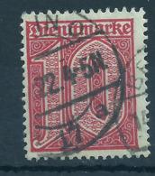 Deutsches Reich Dienst 24 Gest., Geprüft Infla - Officials
