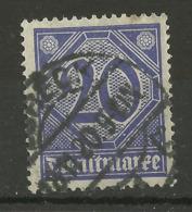 Deutsches Reich Dienst 26 Gest., Geprüft Infla - Service