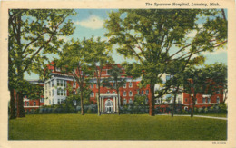 Etats-Unis - Michigan - Lansing - The Sparrow Hospital - état - Lansing