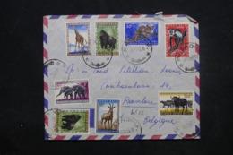 CONGO BELGE - Enveloppe De Matadi Pour La Belgique En 1959, Affranchissement Plaisant - L 45402 - Congo Belge
