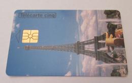 Télécarte 5 Unités Gn44 Tour Eiffel - Rare 6000 Ex - Luxe - Frankreich