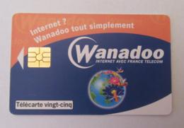 Télécarte 25 Unités Hn108 Wanadoo - 5200 Ex - Luxe - France