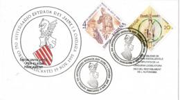 34379. Carta ONDARA (Alicante) 1995, 750 Aniv. Entrada Jaime I A La Poblacion - 1931-Hoy: 2ª República - ... Juan Carlos I