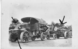 Armée Française Renault EG15 Artillerie Camouflage 14-18 Tracteur Camion - Krieg, Militär
