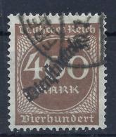 Deutsches Reich Dienst 80 Gest., Geprüft Infla - Officials