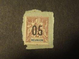 REUNION  1912  Dentelure  Décallée - Used Stamps
