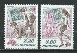 MONACO 1989 . N°s 1686 Et 1687 . Neufs ** (MNH) . - Neufs