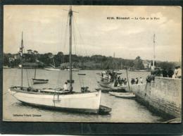 CPA - BENODET - La Cale Et Le Port, Animé - Arrivée De Bateau - Bénodet
