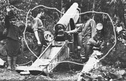 Armée Française  Obusier Canon 14-18 - Krieg, Militär