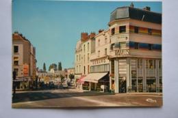 CORBEIL-ESSONNES-le Carrefour Du Pont Vers La Place Roger Salengro-magasin Ramus-Debard Etc... - Corbeil Essonnes