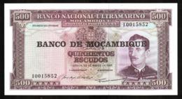 Mozambique 500 Escudos 1967 Pick 118a Ref 5852 - Mozambique